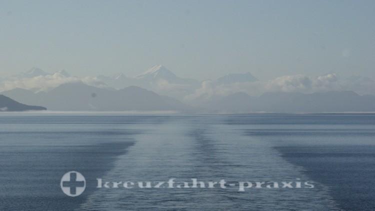 Die Gletscher bleiben zurück