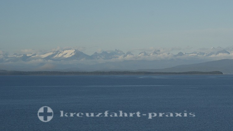 Ausfahrt aus Glacier Bay