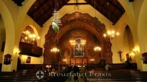 Ålesund Kirke - das Kirchenschiff