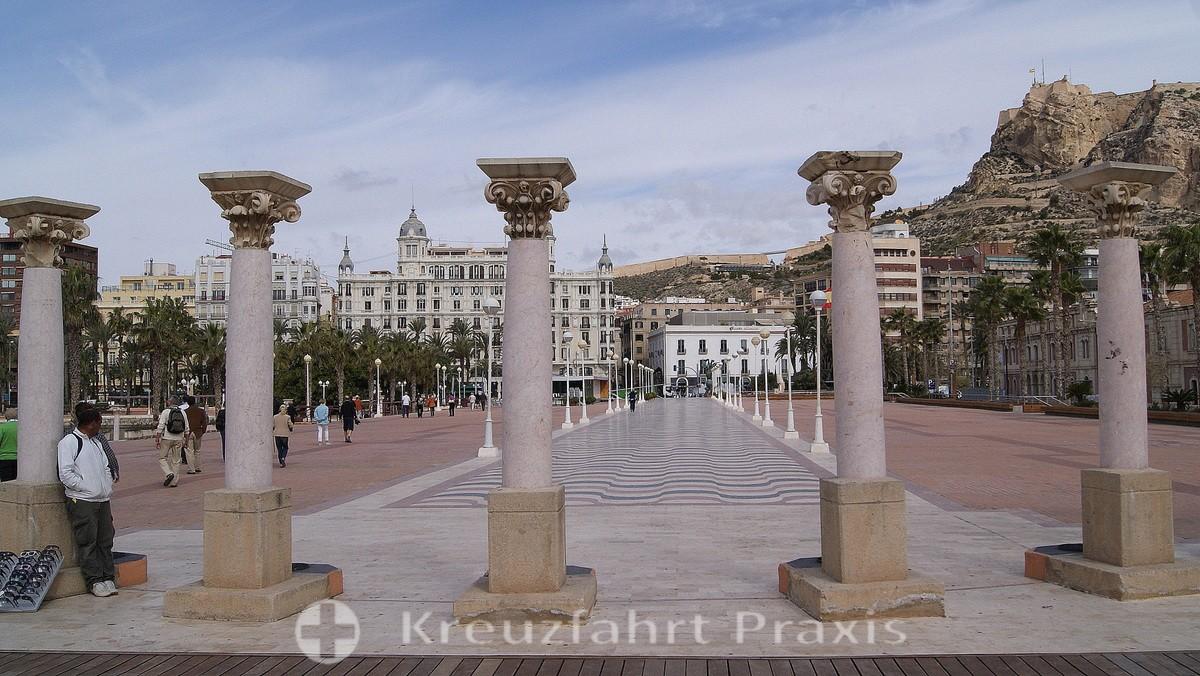 Alicante - Explanada del Puerto
