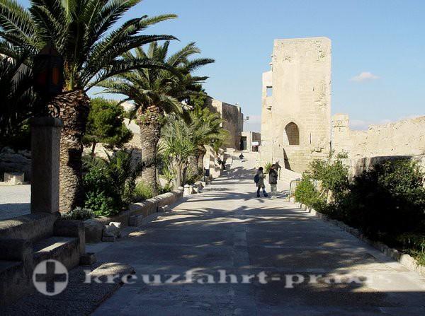 Alicante - Festungstürme
