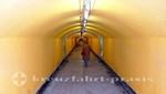Tunnelweg zur Festung