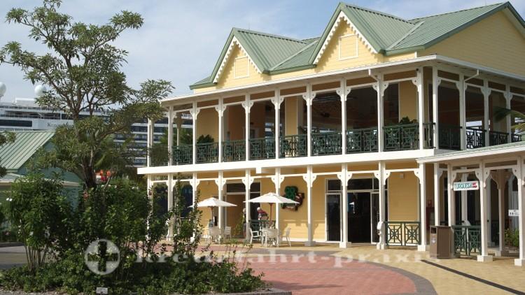 Amber Cove - Eines der Restaurants