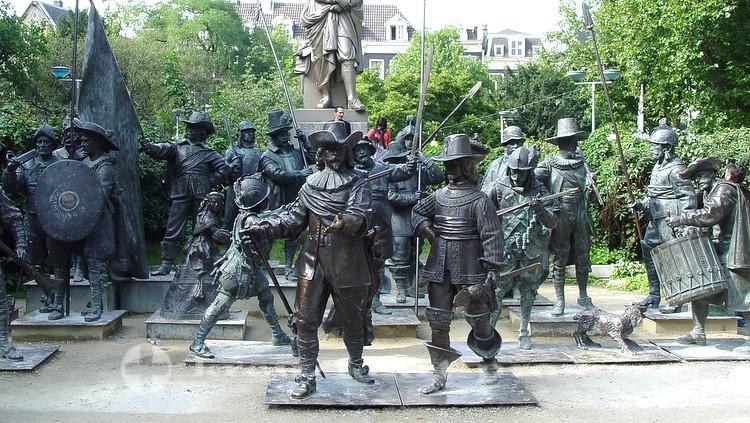 Die Nachtwache am Rembrandtplein