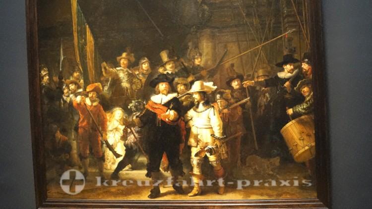 Rembrandt-Gemälde - Die Nachtwache
