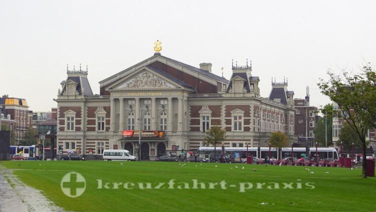 Das Concertgebouw am Museumplein