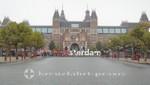 Das Rjksmuseum vom Museumplein gesehen