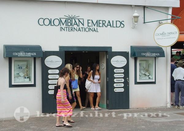 Juwelierladen in der Nevis Street