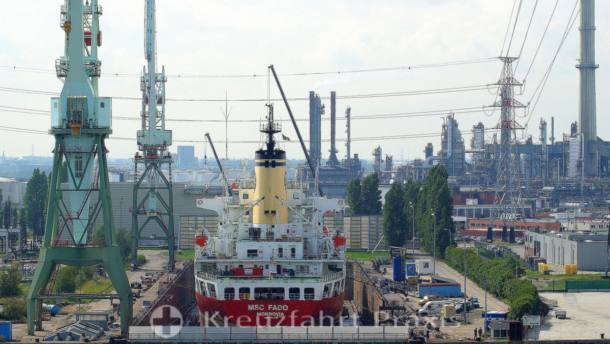 Petrochemical industrial plants
