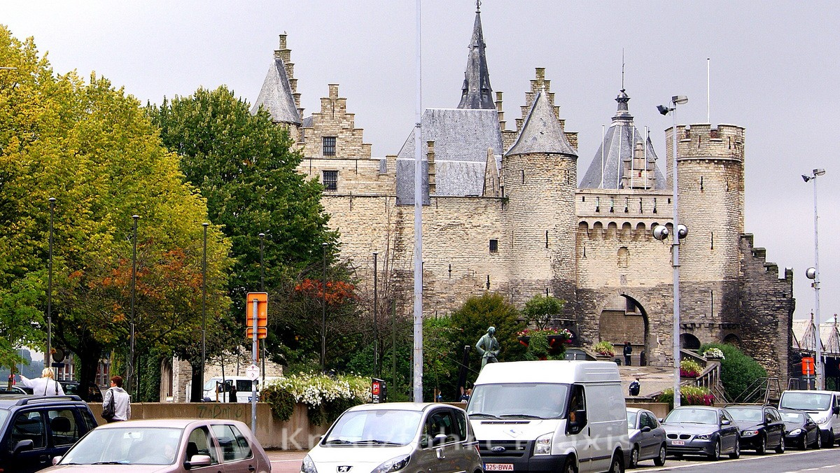 Het Steen - Antwerp's oldest building