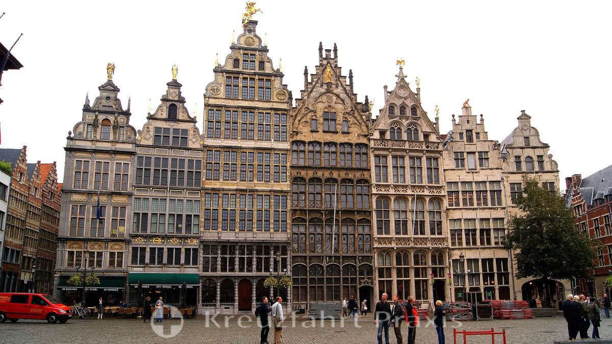 Antwerp - The Grote Markt