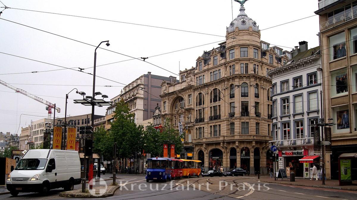 Antwerp center - Meirbrug