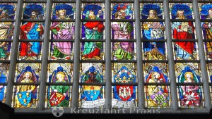 Cathedral of Our Lady - beautiful stained glass windows