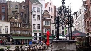 Fountain at the Grote Markt
