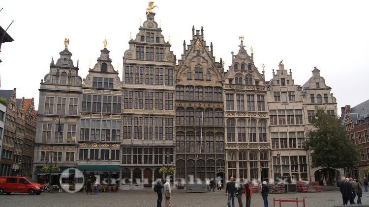 Antwerpen - Der Grote Markt