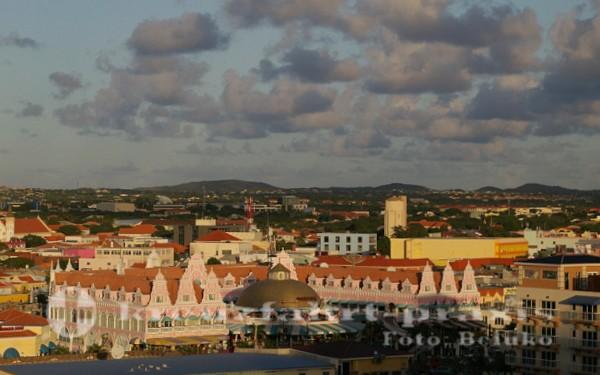 Abschied von Oranjestad