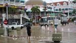 Aruba nach einem Starkregen