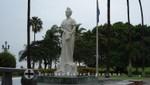 Aruba - Königin Wilhelmina Statue