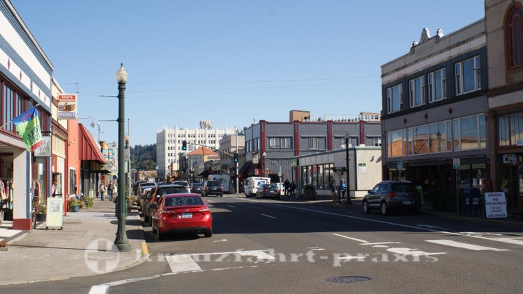 Commercial Street im Stadtzentrum