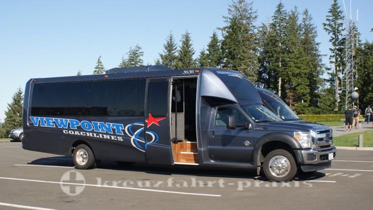 Zubringerbus zur Astoria Column
