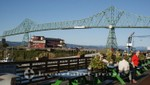 Der Riverwalk mit der Astoria-Megler-Bridge