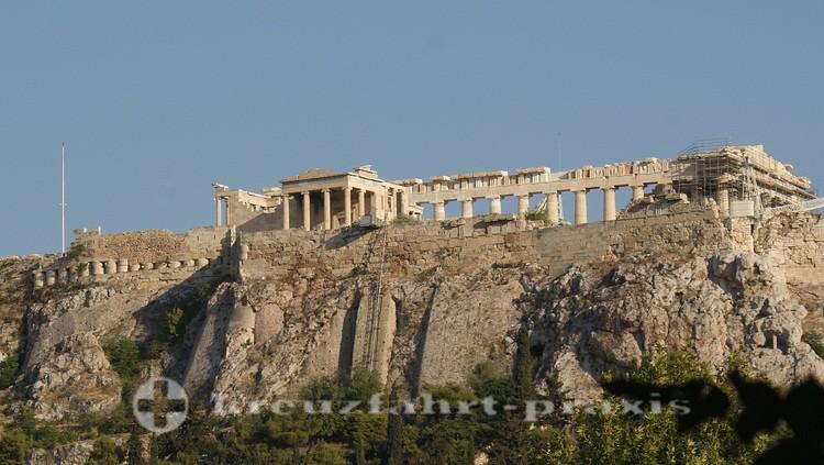Athen - Akropolis mit Erechtheion und Parthenon