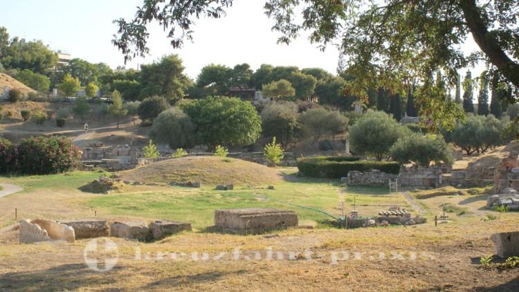 Athen - Kerameikos-Grabungsstätte