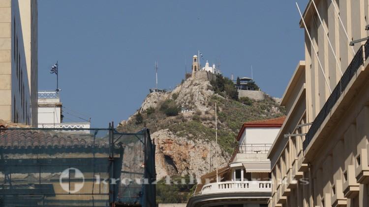 Athen - Lykavittos mit Kapelle