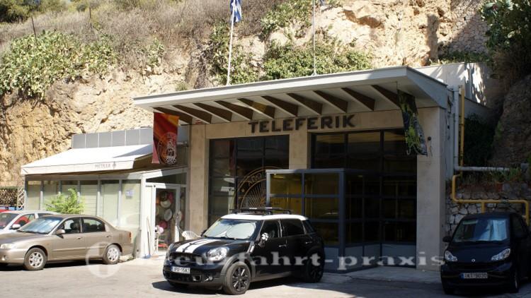 Athen - Lykavittos-Bergbahn