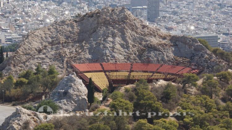 Athen - Freilichttheater auf dem Lykavittos