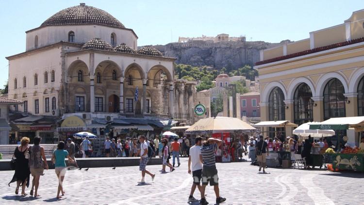 Athen - Die ehemalige Tzistarakis-Moschee