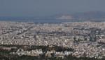 Athen - Panorama - Blick auf Piräus