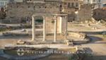 Athen - Säulenreihe der Hadriansbibliothek