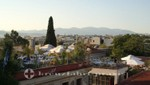 Athen - Dachterrassen an der Mnisikleous/Plaka