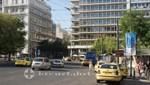 Athen - Taxen am Syntagmaplatz