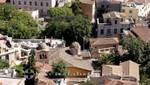 Athen - Plaka von oben gesehen