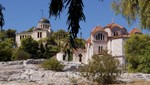 Athen - Nationalobservatorium und die Agia Marina-Kirche