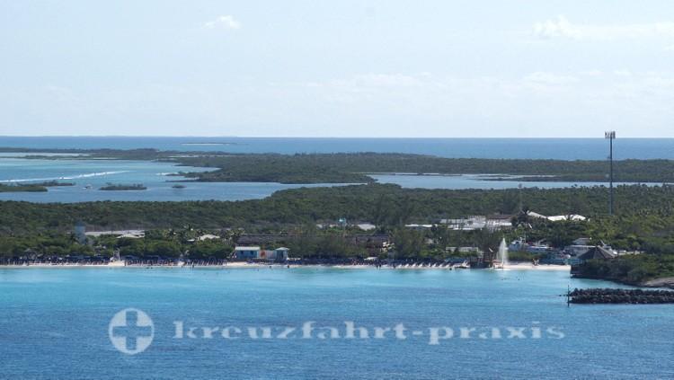 Bahamas - Half Moon Cay - Die Insel und die Lagune