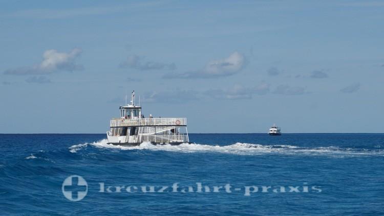 Bahamas - Half Moon Cay - Tenderboote
