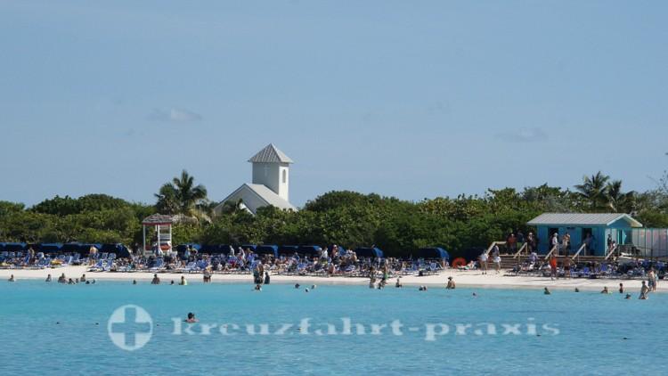 Bahamas - Half Moon Cay - Strandleben