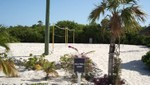 Bahamas - Half Moon Cay - Das Volleyball-Feld