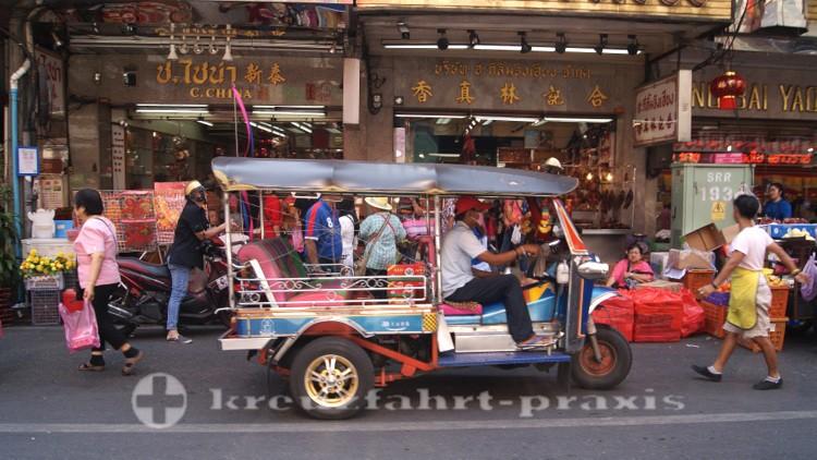 Tuk-Tuk in Chinatown