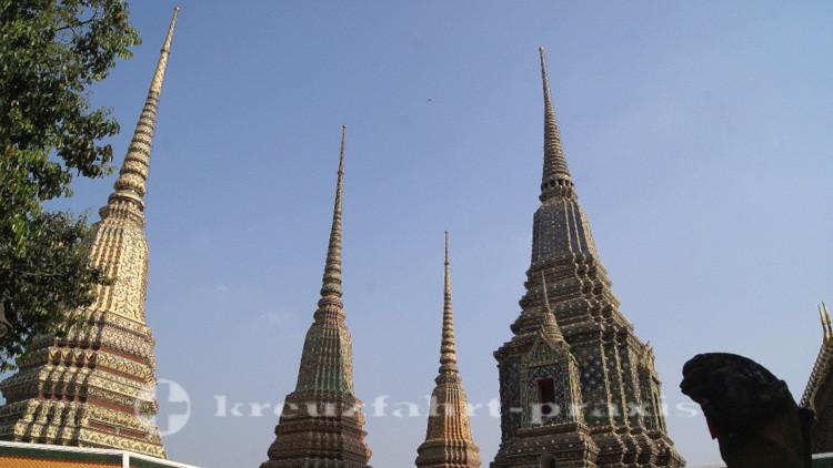 Türme des Wat Pho Tempels