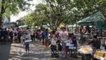 Menschenmassen in Bangkok