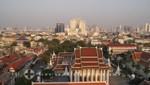 Panoramablick vom Wat Saket-Tempel