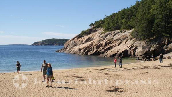Bar Harbor - Acadia National Park - Sand Beach