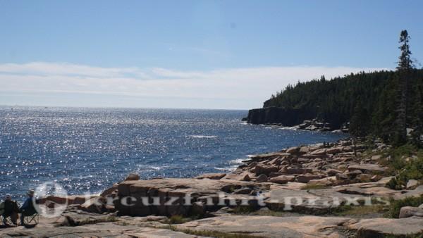 Acadia National Park - Klippenformationen Otter Cliff