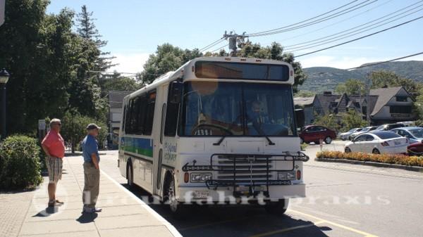Bar Harbor - Island Explorer Bus