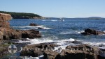 Bar Harbor - Acadia National Park - Klippenformationen Thunder Hole