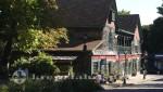 Bar Harbor - Malerische Gebäude am Village Green